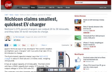 http://news.cnet.com/8301-17938_105-20097906-1/nichicon-claims-smallest-quickest-ev-charger/