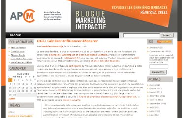 http://www.bloguemarketinginteractif.com/ugc-generer-influencer-mesurer/