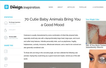 http://thedesigninspiration.com/articles/70-cutie-baby-animals-bring-your-a-good-mood