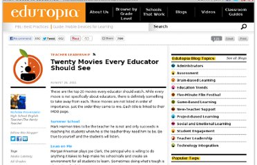 http://www.edutopia.org/blog/20-must-see-movies-educators-nicholas-provenzano