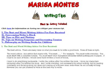 http://www.marisamontes.com/writing_tips.htm
