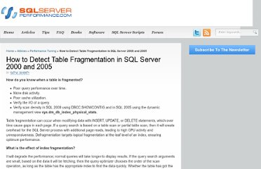 http://www.sql-server-performance.com/2006/detect-fragmentation-sql2000-sql2005/