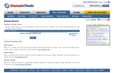 http://www.domaintools.com/buy/domain-search/