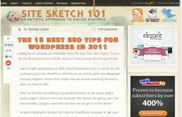 http://www.sitesketch101.com/powerful-seo-tips-for-wordpress-users/