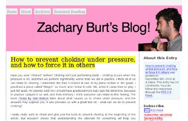 http://zacharyburt.com/2010/12/how-to-prevent-choking-under-pressure-and-how-to-force-it-in-others/