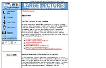 http://oct.sfsu.edu/implementation/largelecture/htmls/introduction.html