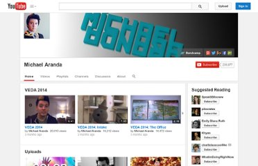 http://www.youtube.com/user/michaelaranda