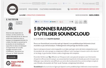 http://owni.fr/2010/10/18/5-bonnes-raisons-dutiliser-soundcloud/
