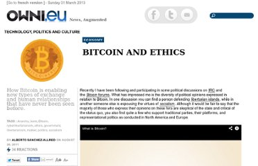 http://owni.eu/2011/08/26/bitcoin-and-ethics/