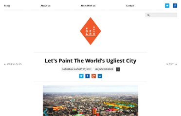 http://popupcity.net/2011/08/lets-paint-the-worlds-ugliest-city/