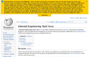 http://fr.wikipedia.org/wiki/Internet_Engineering_Task_Force