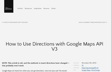 http://stiern.com/tutorials/how-to-use-directions-with-google-maps-api-v3/