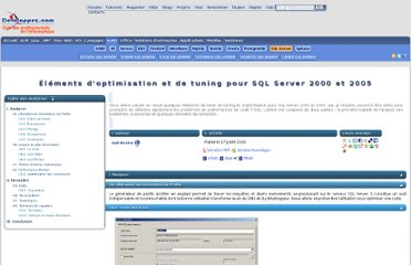 http://rudi.developpez.com/sqlserver/tutoriel/optimisation/