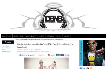 http://www.dropbeatsnotbombs.com/2011/08/afrojack-steve-aoki-were-all-no-one-nervo-remix-download/#