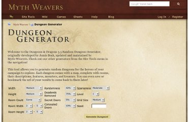 http://www.myth-weavers.com/generate_dungeon.php?
