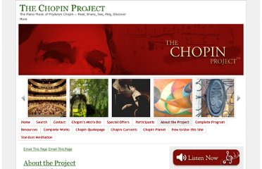 http://www.chopinproject.com/about-the-project/