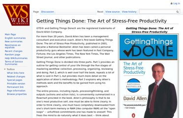 http://www.wikisummaries.org/Getting_Things_Done:_The_Art_of_Stress-Free_Productivity