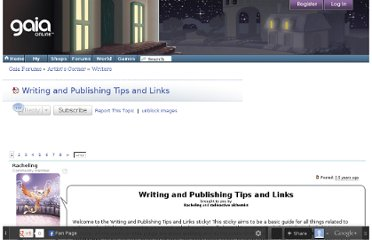 http://www.gaiaonline.com/forum/writers/writing-and-publishing-tips-and-links/t.65920103_1/