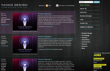 http://www.yankodesign.com/category/podcast/