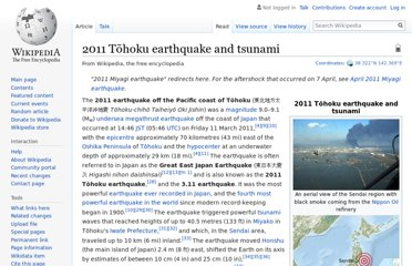 http://en.wikipedia.org/wiki/2011_T%C5%8Dhoku_earthquake_and_tsunami