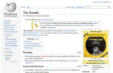 http://en.wikipedia.org/wiki/The_Breaks