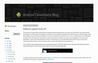 http://android-developers.blogspot.com/2009/02/android-layout-tricks-1.html