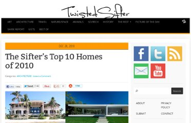 http://twistedsifter.com/2010/12/top-10-homes-of-2010/