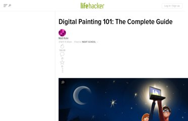 http://lifehacker.com/5781134/digital-painting-101-the-complete-guide