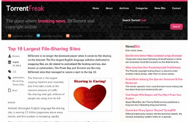 http://torrentfreak.com/top-10-largest-file-sharing-sites-110828/