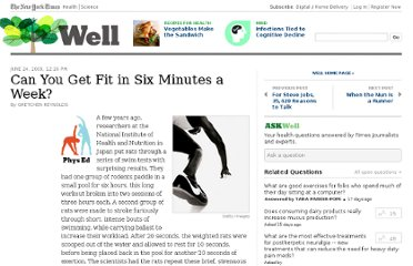 http://well.blogs.nytimes.com/2009/06/24/can-you-get-fit-in-six-minutes-a-week/