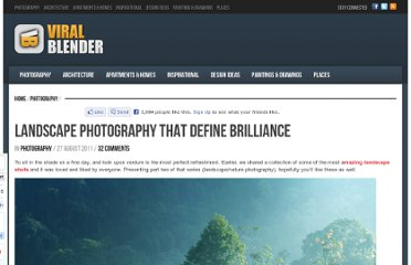 http://www.viralblender.com/2011/08/27/landscape-photography-that-define-brilliance/