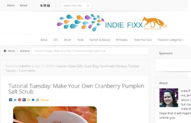 http://indiefixx.com/2008/11/11/tutorial-tuesday-make-your-own-cranberry-pumpkin-salt-scrub/