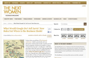 http://www.thenextwomen.com/2009/04/16/what-would-google-do-jeff-jarvis-new-rules-but-where-is-the-business-model