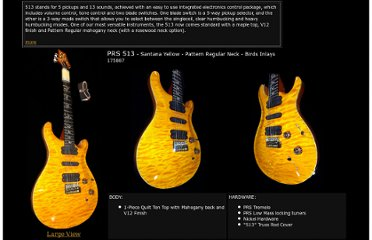 http://wildwestguitars.com/prs/pages/513_SantanaYellow_175887.html