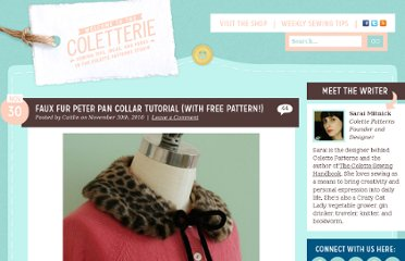 http://www.coletterie.com/tutorials-tips-tricks/faux-fur-peter-pan-collar-tutorial-with-free-pattern