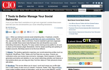 http://www.cio.com/article/512599/7_Tools_to_Better_Manage_Your_Social_Networks