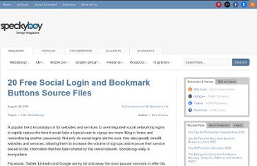 http://speckyboy.com/2011/08/28/20-free-social-login-and-bookmark-buttons-source-files/