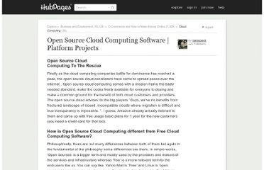 http://nanospeck.hubpages.com/hub/Open-Source-Cloud-Computing-Software-Platform-Projects-System
