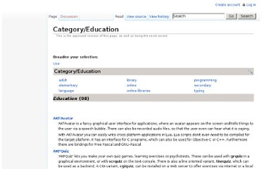 http://directory.fsf.org/category/educ/