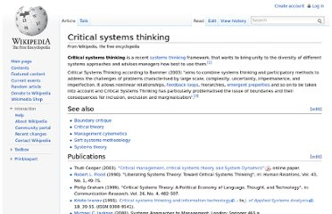 http://en.wikipedia.org/wiki/Critical_systems_thinking