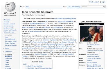 http://en.wikipedia.org/wiki/John_Kenneth_Galbraith