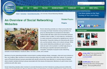 http://connection.ebscohost.com/technology/social-networking-sites/overview-social-networking-websites