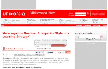 http://biblioteca.universia.net/html_bura/ficha/params/title/metacognitive-realism-cognitive-style-or-learning-strategy/id/53037530.html
