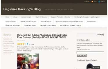 http://beginnerhacking.wordpress.com/2010/07/10/tutorial-get-adobe-photoshop-cs5-activated-free-forever-serial-no-crack-needed/