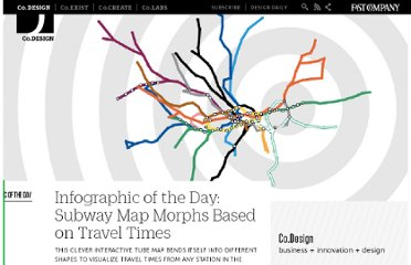 http://www.fastcodesign.com/1663376/infographic-of-the-day-subway-map-morphs-based-on-travel-times