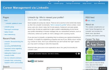 http://careermanagementvialinkedin.wordpress.com/2011/06/15/linkedin-tip-whos-viewed-your-profile/