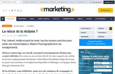 http://www.e-marketing.fr/Breves/Le-retour-de-la-reclame---37954.htm