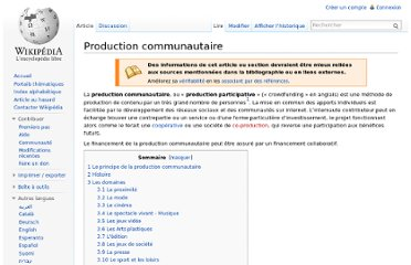 http://fr.wikipedia.org/wiki/Production_communautaire