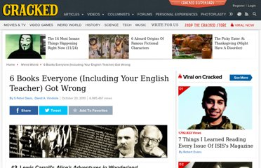 http://www.cracked.com/article_18787_6-books-everyone-including-your-english-teacher-got-wrong_p2.html