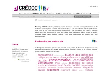 http://www.credoc.fr/publications/index.php